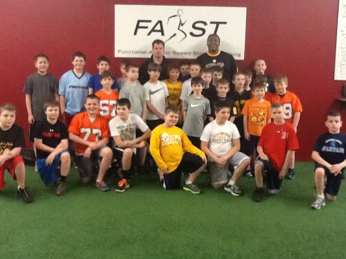 Darnell Stapleton Youth Football Training
