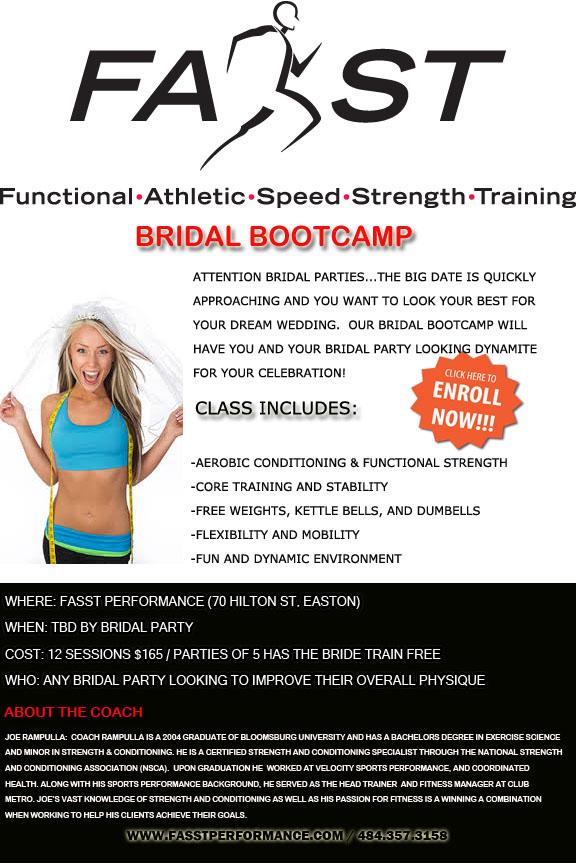 FASST Bridal Bootcamp
